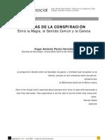 TEORÍAS DE LA CONSPIRACIÓN