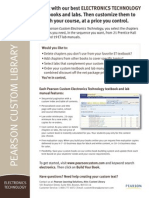 Electronic Technology Flyer 092009