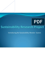 sustainability research project