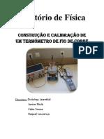 Actividade Laboratorial - Construção e Calibração de Um Fio De Cobre