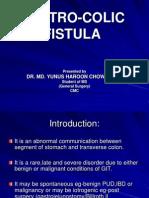 Gastro Colic Fistula