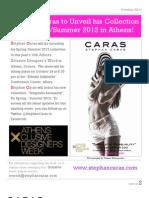 Stephan Caras Newsletter Oct-2011