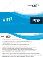 Edgewater Wireless WiFi3 Features Benefits Overview
