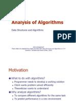 Lec02 Algorithm Analysis