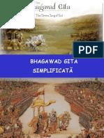 Superba Filozofie Indiana BHAGAVAD GITA