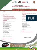 """PRESENTAZIONE del 1°Focus Group """"Progetto di riforma dei campionati"""""""