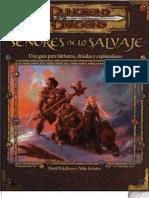 Libros de Clases - Señores de lo salvaje (barbaros, druidas y exploradores)