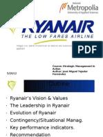 JoseMTejedor - Assignment 2 - Strategic Management in Action - Ryanair