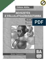 Chikán Attila-Bevezetés a Vállgazdtanba 2010-es kiadás