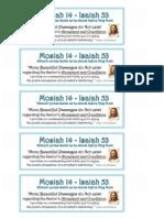 Mosiah 14.Isaiah 53. Journal Insert.handout