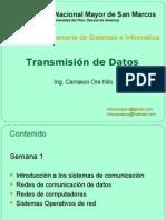 Semana 1 - Comunicacion de Datos y Redes