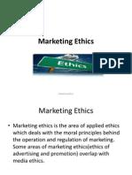 Marketing Ethics Ppt