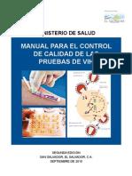 Manual Calidad Pruebas VIH