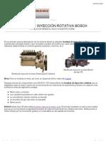Bombas Rotativas de Inyeccion Diesel