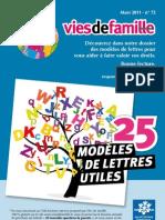 Modeles de Lettres Utiles