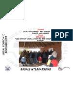 Makabelo Dolo, Lesotho, Local Economic Development - Summit 2012