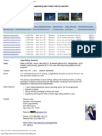 Legal Billing Jobs in New York City Law Firms Billing Jobs