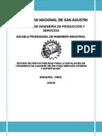 """ESTUDIO DE PRE-FACTIBILIDAD PARA LA INSTALACIÓN DE """"CRIADEROS DE CAMARÓN DE RÍO PARA MERCADO INTERNO Y EXPORTACIÓN"""""""