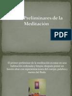 Presentación meditacion