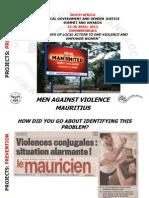 Eddy Joliceur, Mauritius, Prevention - Summit 2012