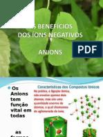 OS BENEFÍCIOS DOS ÍONS NEGATIVOS 2