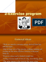 2 Exercise Program