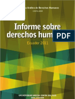 Informe Derechos Humanos (CD)
