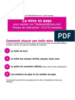 Aide Mise en Page The Book Edition