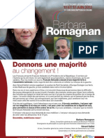 Document de campagne - 4 pages
