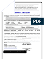 Carta de expensas