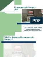 Advanced Laparoscopic Surgery Feasibilty