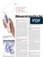 Advanced Plastics for Home Healthcare Applications