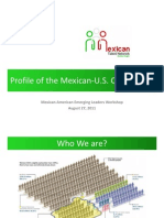 Profile of the Mexican-US Community