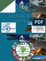 PRESENTACION DE XXVICCIFELSOCEM2011