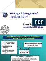 Power Point Set 7_International Strategy_Fall 2007