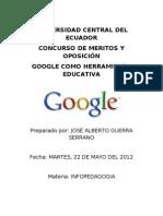Google Como Herramienta Educativa