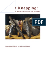 Flintknapping Articles, Tips and Tutorials From the Internet - Lynn