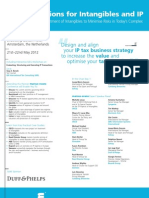 Tax Implications for Intangibles and IP_May 2012
