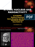 Atomic Nucleus and Radioactivity