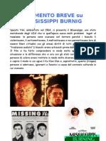 Commento Breve a Mississippi Burnig