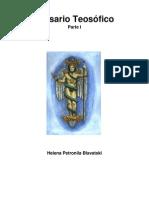 h p Blavatsky Glosario Teosofico 1