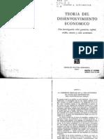 Schumpeter, Teoría del Desenvolvimiento económico