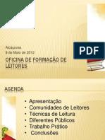 Oficina de Formação de Leitores