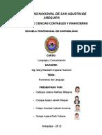 Informe Final Funciones Del Lenguaje