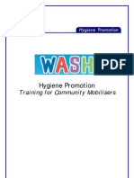 Hygiene Promotion Training for Community Mobilisers - Course Outline