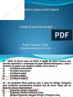 Exercicio Do Word 21-03-2012