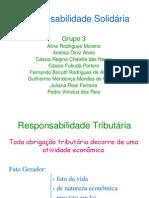 REPONSABILIDADE SOLIDÁRIA (1)