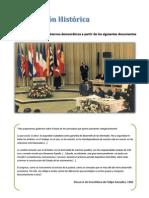Composición Histórica 12. Gobiernos democráticos