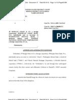 Coursen v JPM Chase Answer to Amdd C Dkt 17