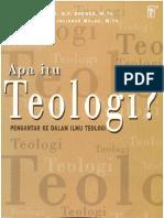 246 Apa Itu Teologi-- Pengantar Ke Dalam Ilmu Teologi by Drewes B.f. _ Julianus Mojau M WWW.ebooKKRISTIANI.marsELLOGINTING.com